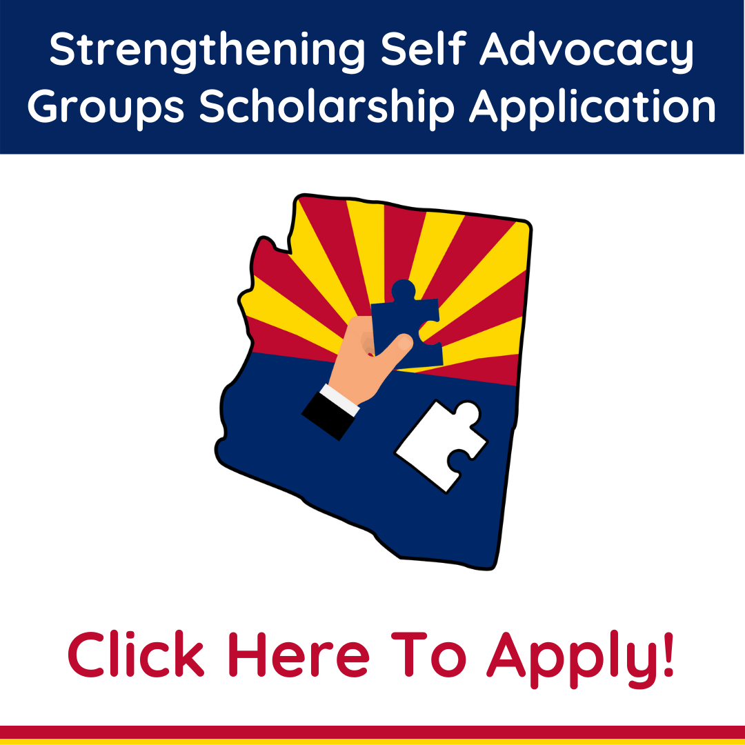 Scholarship application for Self advocacy groups