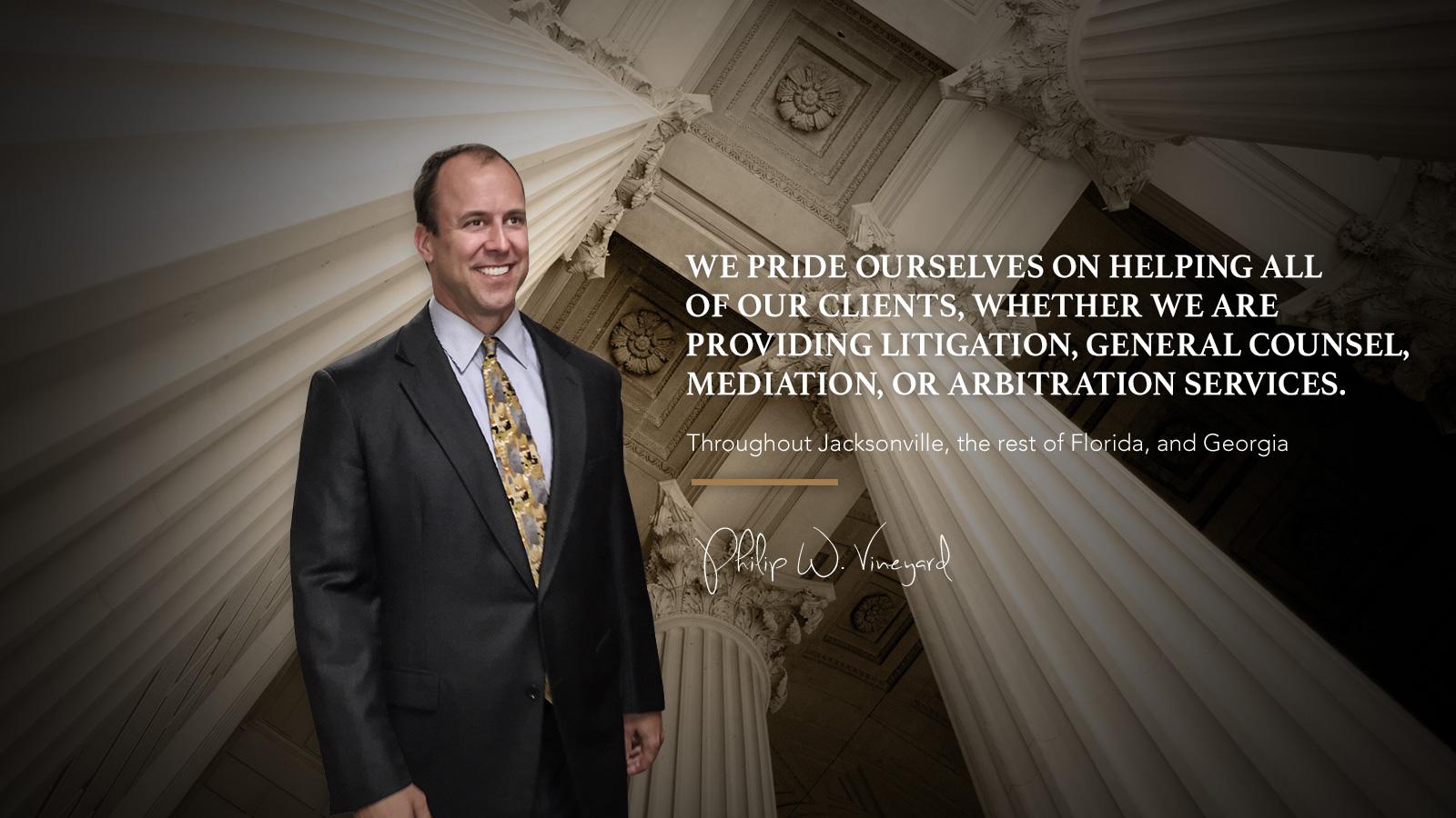 Philip Vineyard Jacksonville Mediation