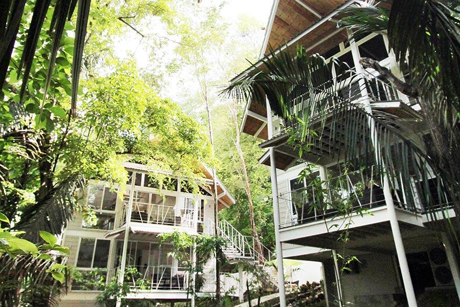 New Bungalow houses at maramar hotel in santa teresa, costa rica.