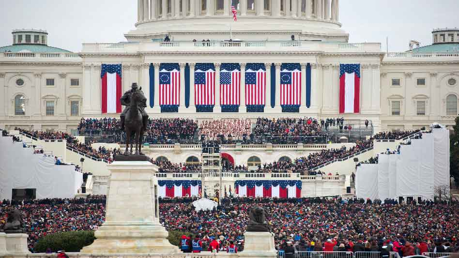 Rabbi Marvin Hier Prays At The 2017 Presidential Inauguration