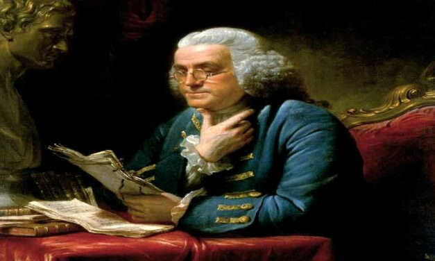 Benjamin Franklin Gives Praise To God 1728