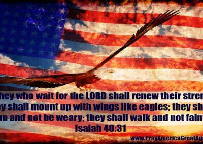 Pray America Great Again Isaiah 40 31