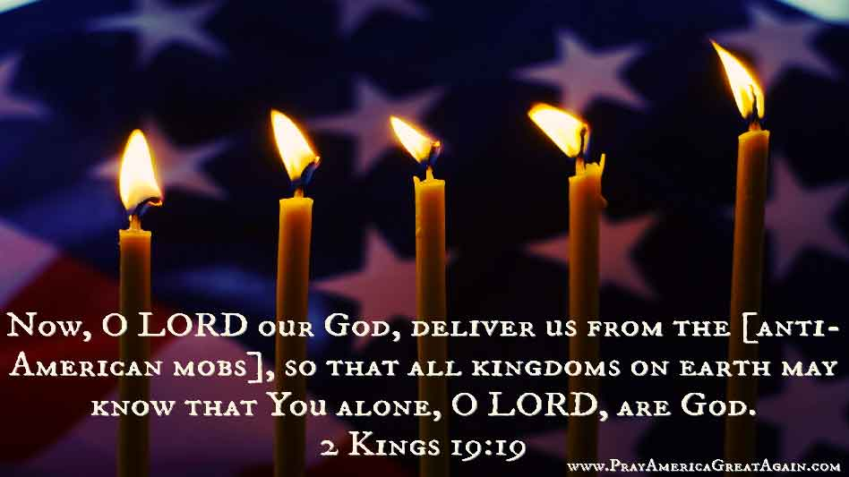 Pray America Great Again 2 Kings 19_19