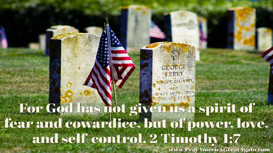 Pray America Great Again 2 Timothy 1_7