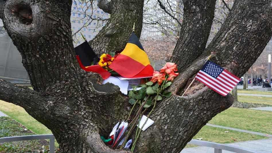 Pray America Great Again 911 Survivor Tree Following Brussels Terrorist Attacks