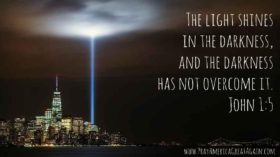 Pray America Great Again John 1_5