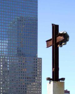 Pray America Great Again September 11 Memorial Ground Zero Cross