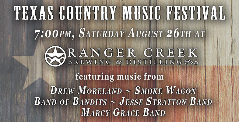 Ranger Creek Brewing & Distilling Partnering with Texas Country Artist Drew Moreland
