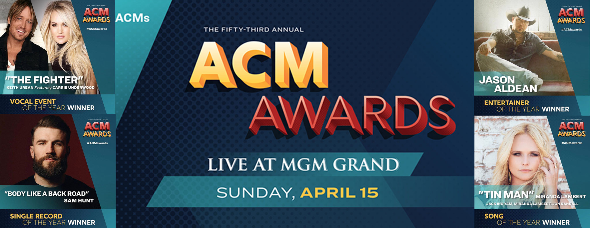 List of 2018 ACM Award Show Winners