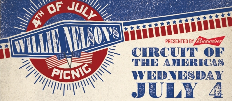 Willie Nelson's 4th of July Picnic   Lineup 2018