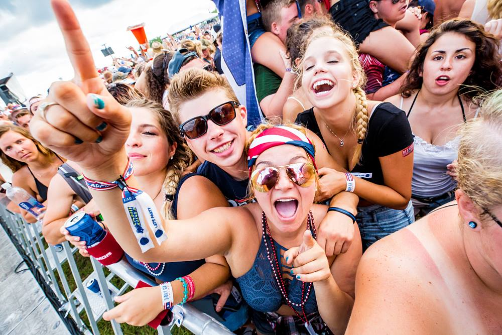 Mega List of Country Music Festivals in United States