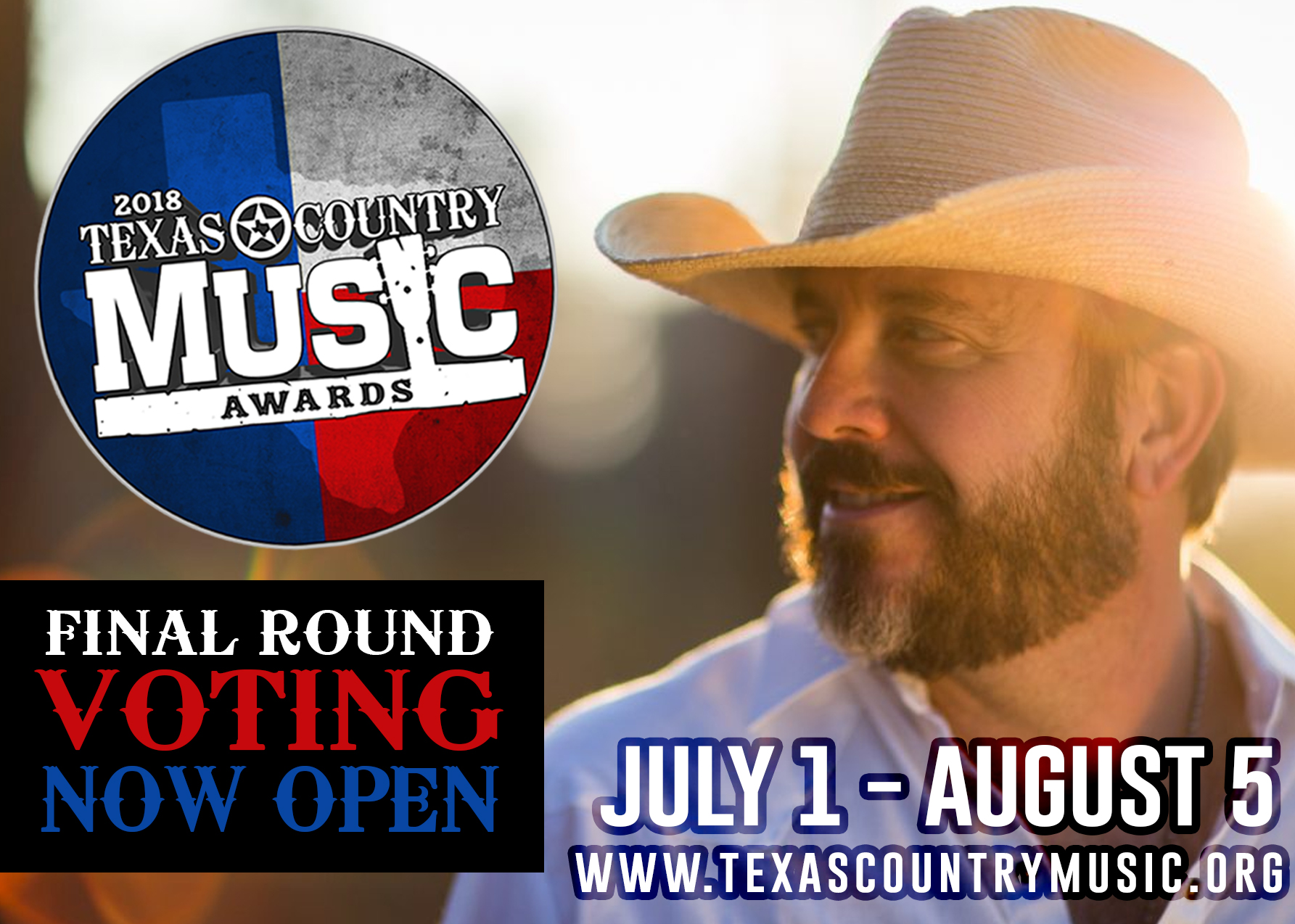 Voting Now Open | 2018 Texas Country Music Awards