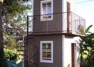 Exterior Railings and Balconies