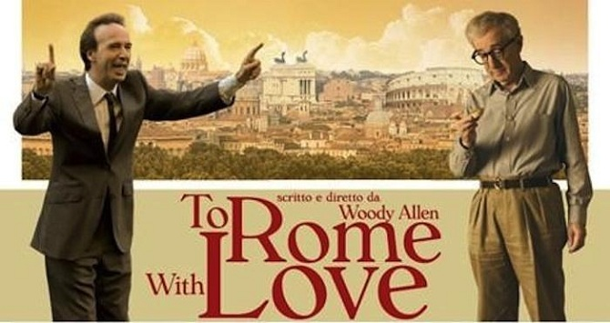 FILM INDEPENDENT, WOODY ALLEN'S TO ROME WITH LOVE FOR OPENING NIGHT AT  2012 LOS ANGELES FILM FESTIVAL