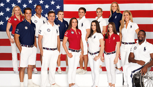 Team USA & Ralph Lauren Ambassadors Get Set For London 2012 Games