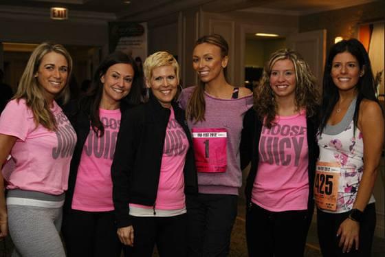 Giuliana Ranic Supports Breast Cancer Awareness In The Barbara Mastectomy Bra By Body Rock