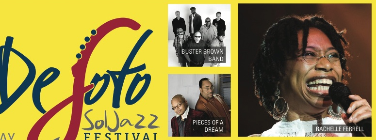 Cameo, Rachelle Ferrell, Doug E. Fresh, MC Lyte, Desoto Sol Jazz Festival To Kick-Off The Biggest Concert Week In June