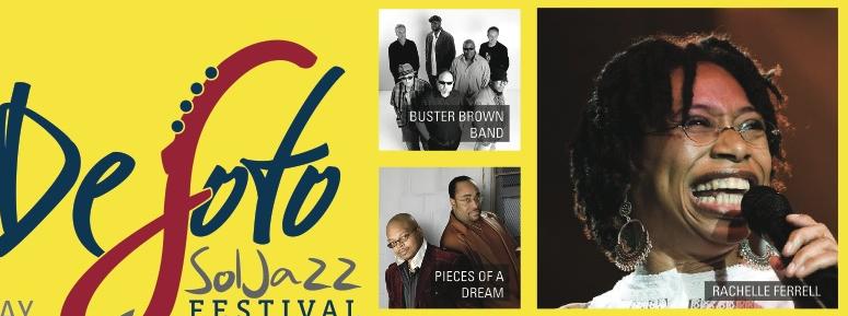 Cameo, Rachelle Ferrell, Doug E. Fresh, MC Lyte, Desoto Sol Jazz Festival To Kick-Off The Biggest Concert Week In June
