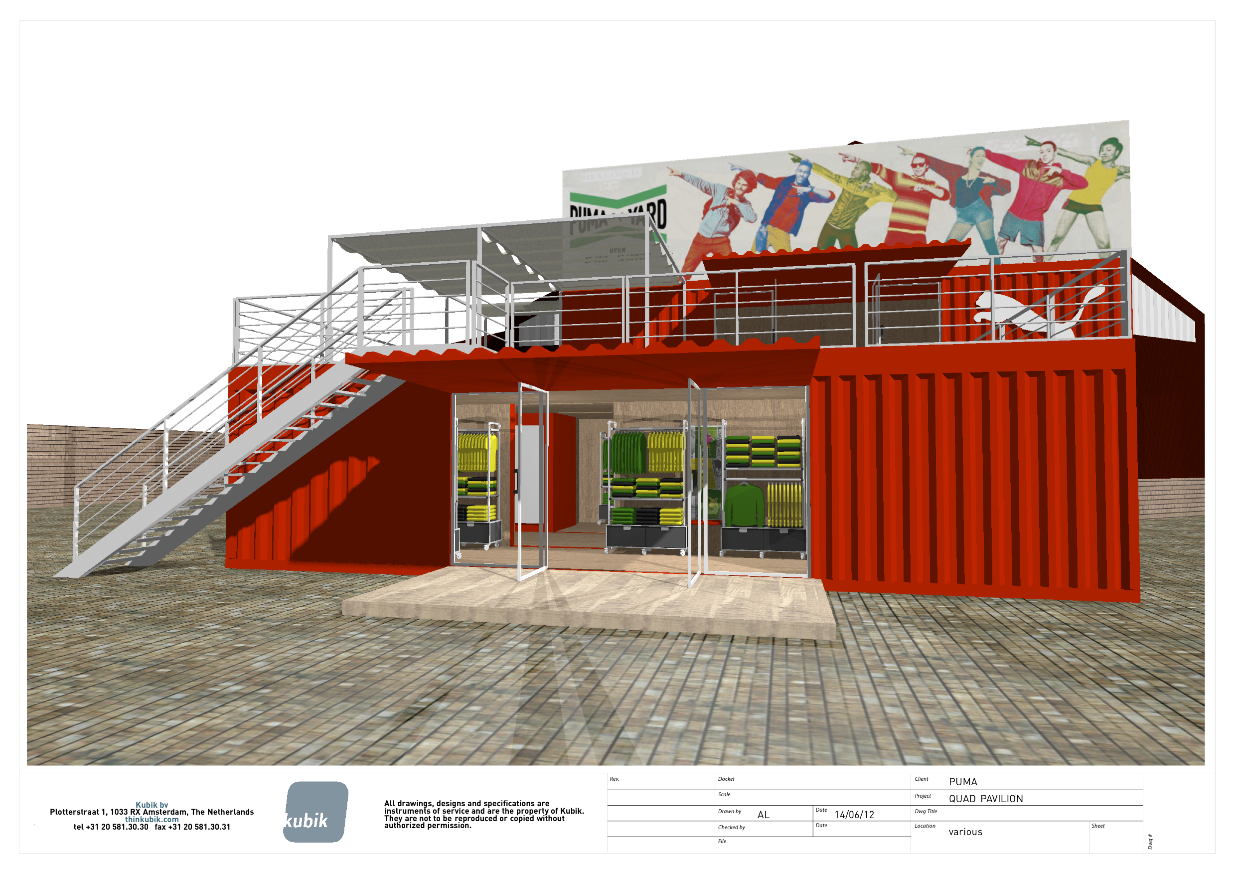 PUMA® Unveils Plans For The PUMA YARD Brand Experience In London