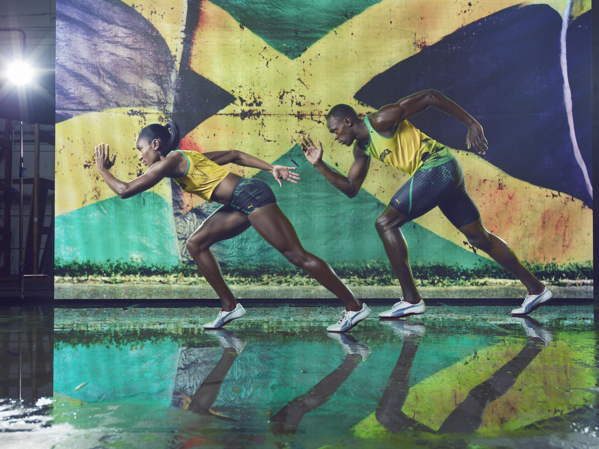 PUMA Unveil Olympic Apparel For London 2012, Designed By Cedella Marley