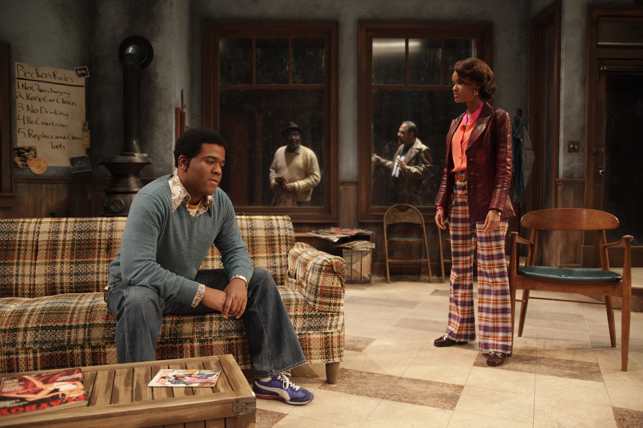 August Wilson's JITNEY, A Sensational Play Directed by Ron OJ Parson
