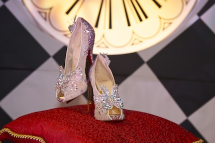 Louboutin Unveils Cinderella Inspired Slipper During Haute Couture week in Paris!