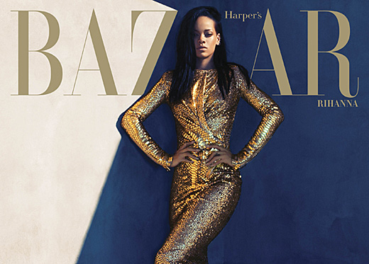 Rhianna, Harper's Bazaar, The Golden Girl