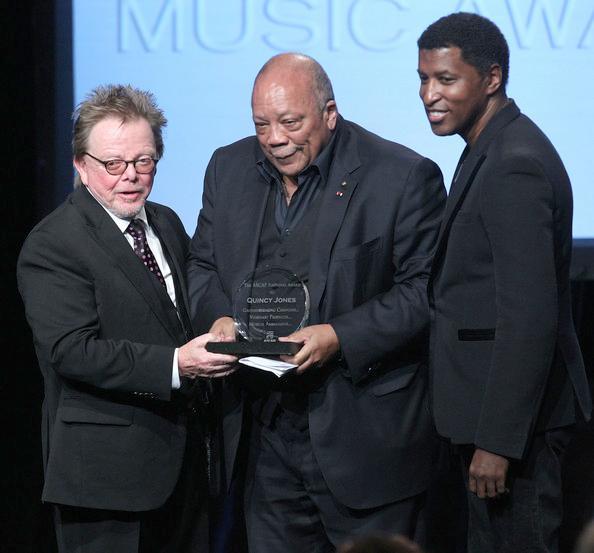 Quincy Jones, Pharrell Williams, 25th Annual Rhythm & Soul Music Awards
