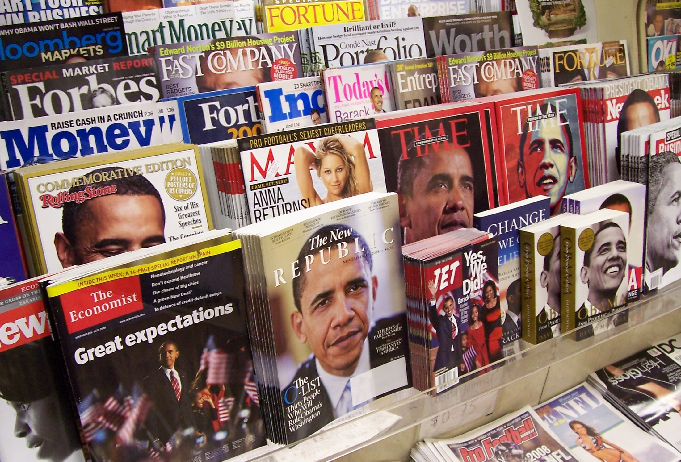 The Top 25 U.S. Consumer Magazines for the First Half of 2012