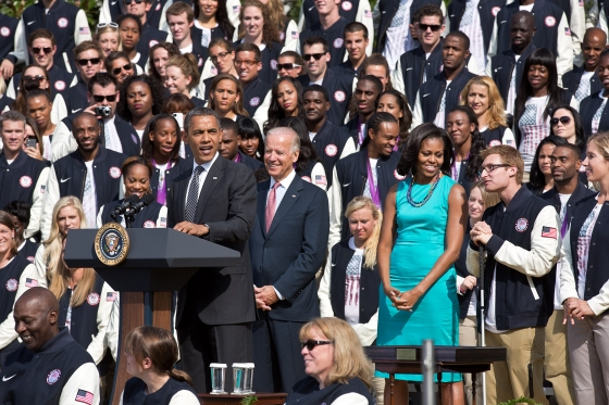 What Are 400 Athletes Doing at the White House?