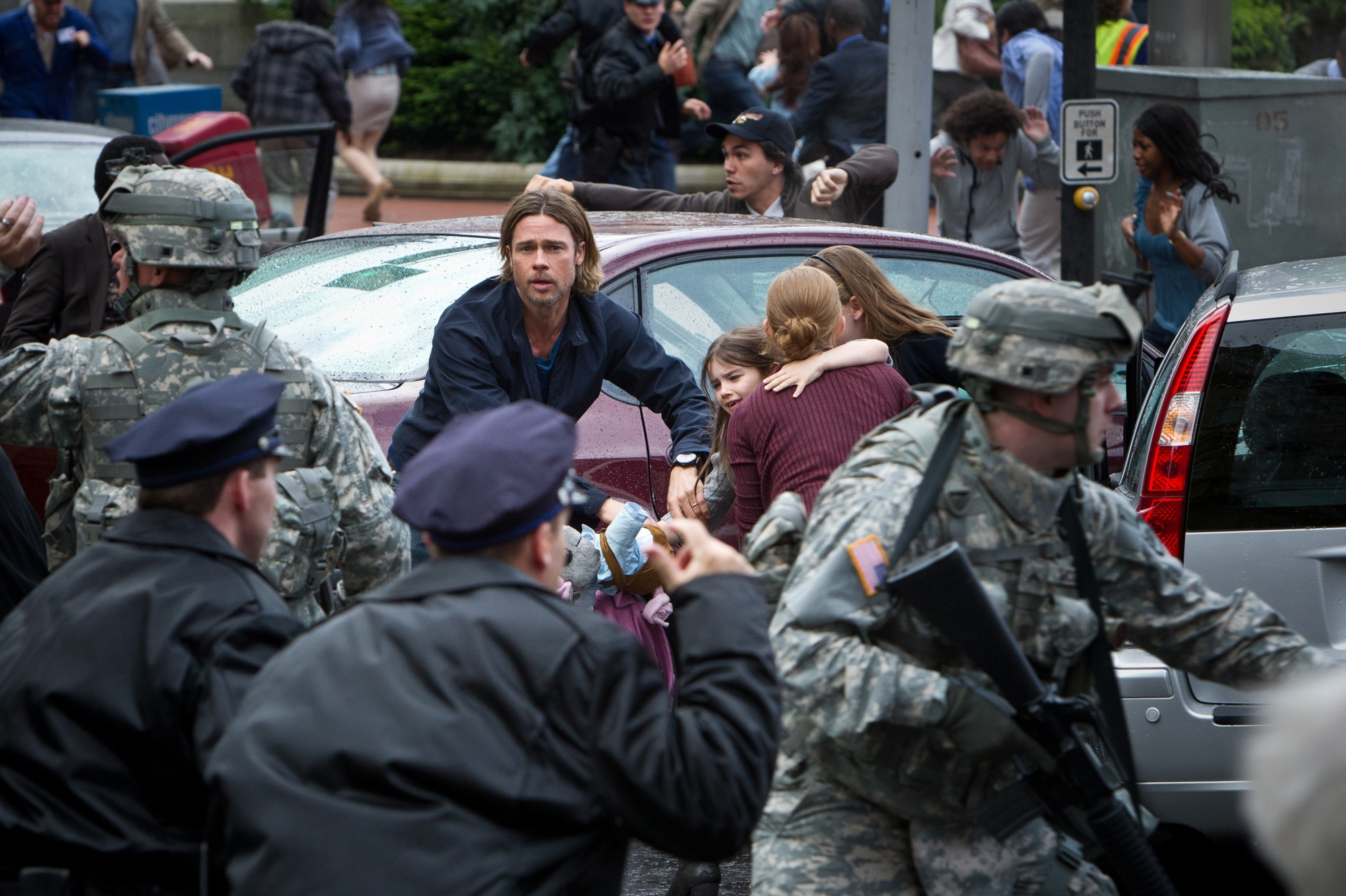 Brad Pitt World War Z, New Film 2013