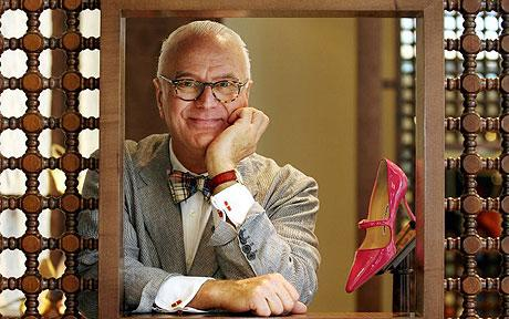 Manolo Blahnik CBE will receive the Outstanding Achievement Award at this year's British Fashion Awards