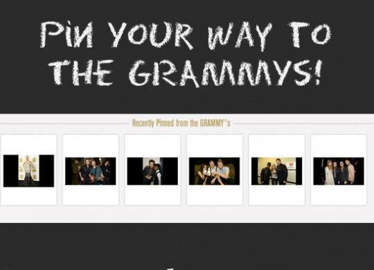 """The Recording Academy Launches """"Pin Your Way To The GRAMMYS"""""""