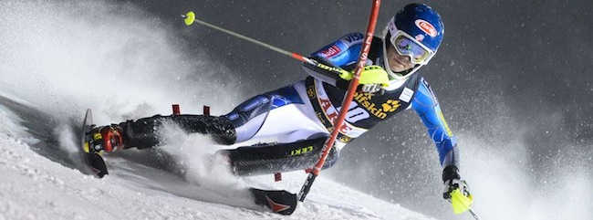 USA Mikaela Shiffrin Audi FIS Alpine World Cup Slalom Victory