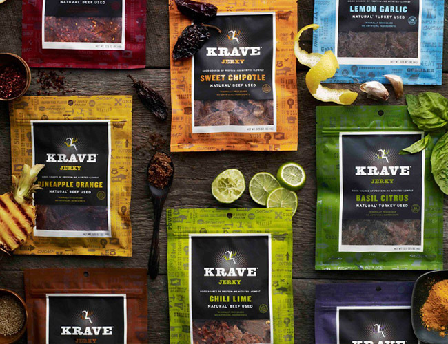 KRAVE Jerky, The Best Low Calorie Treat