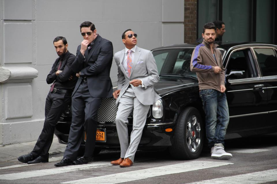 Colin Farrell & Terrence Howard In The Film, Dead Man Down