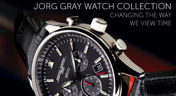 Editor's Power Pick: Jorg Gray Watch Styles Just Right for You!