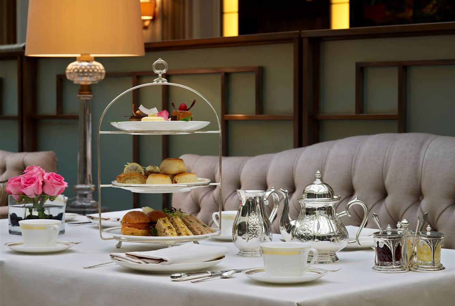 London Fashion Afternoon Tea Hosted by The Luxurious Hotel The Lanesborough & The Fashion house Beulah London