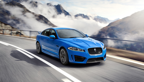 Jaguar XFR-S makes European debut at Geneva Motor Show