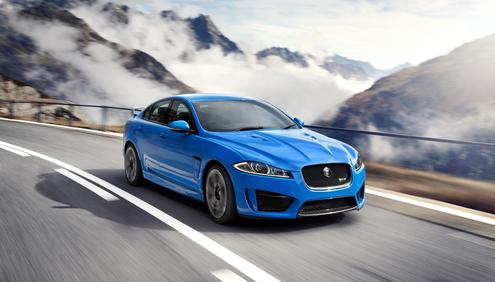 Jaguar XFR-S makes European debut at Geneva Motor Show