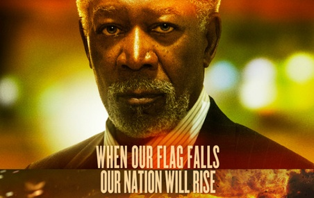 Morgan Freeman, Aaron Eckhart, Angela Bassett In Olympus Has Fallen