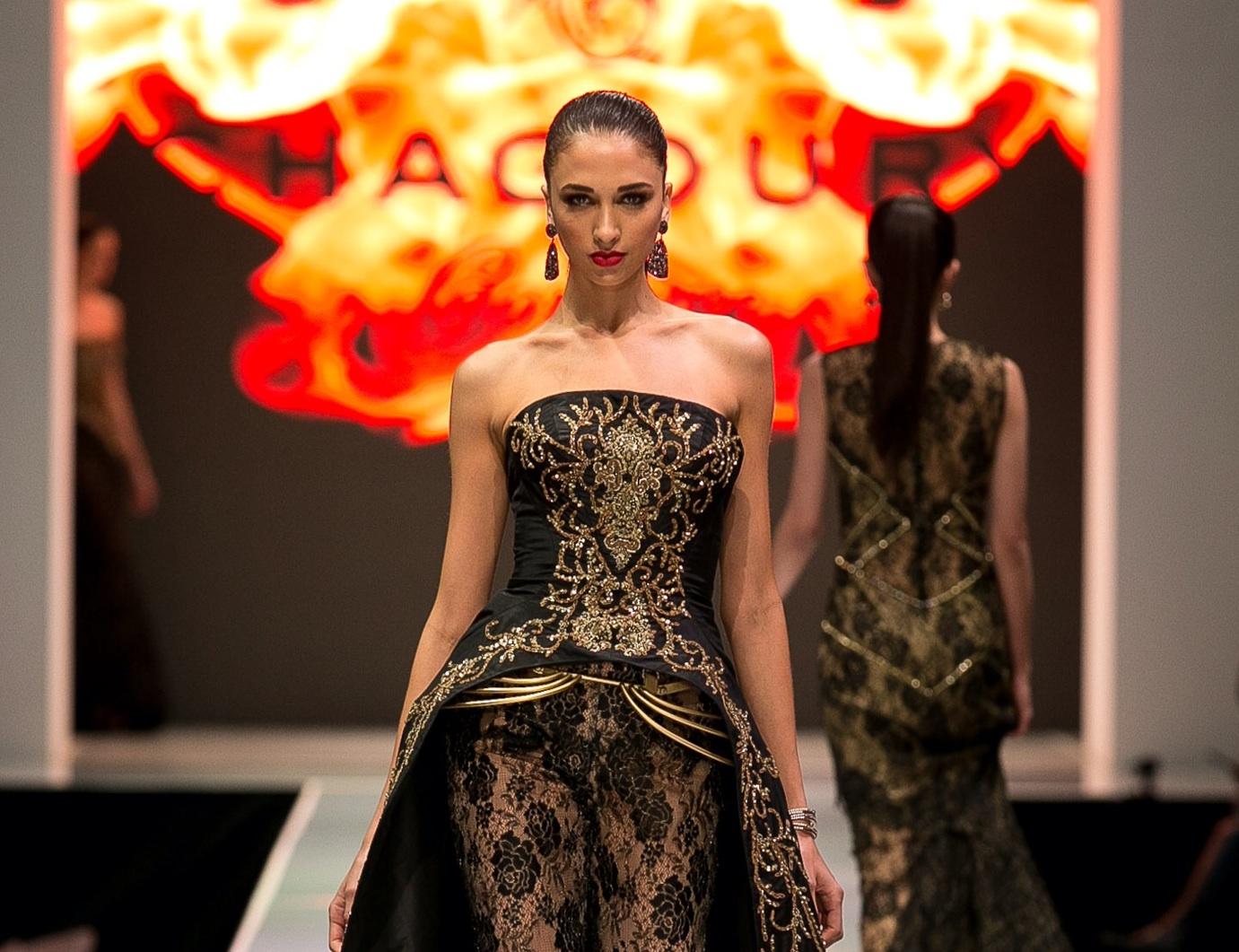 Designer Gilbert A. Chagoury Present At Fashion Week El Paseo