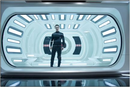"Watch Captain Kirk and John Harrison Come Face To Face In The New Clip ""I ALLOW IT"""