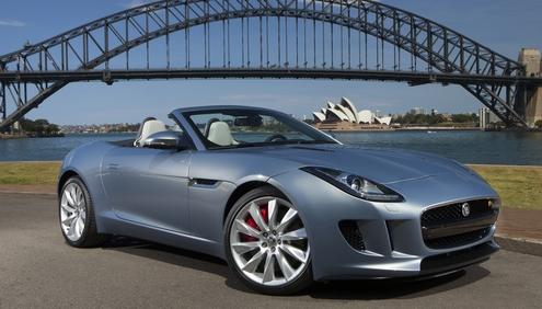 New Jaguar Car News: The first Jaguar F-TYPE customer cars leave Jaguar Land Rover's Castle Bromwich