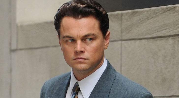 Martin Scorcese's THE WOLF OF WALL STREET starring Leonardo DiCaprio