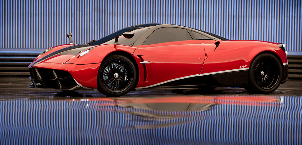 Transformers 4! Blood Red Pagani Huayra FAB Automobile named after an ancient Andean God of Wind