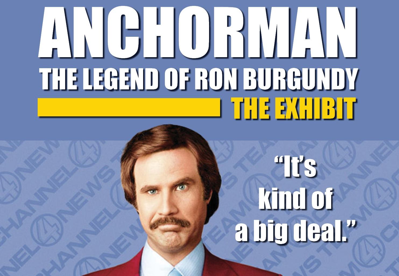 Newseum in Washington, D.C., Announces 'Anchorman: The Exhibit' to Open November 14, 2013