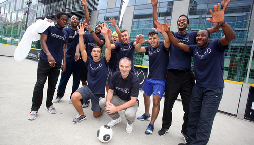 Top Swiss football club BSC Young Boys stage Laureus Fair Play Summit