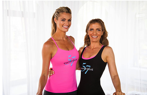 Physique 57 Announce its partnership with longtime Physique 57® client and Fox Sports' Erin Andrews