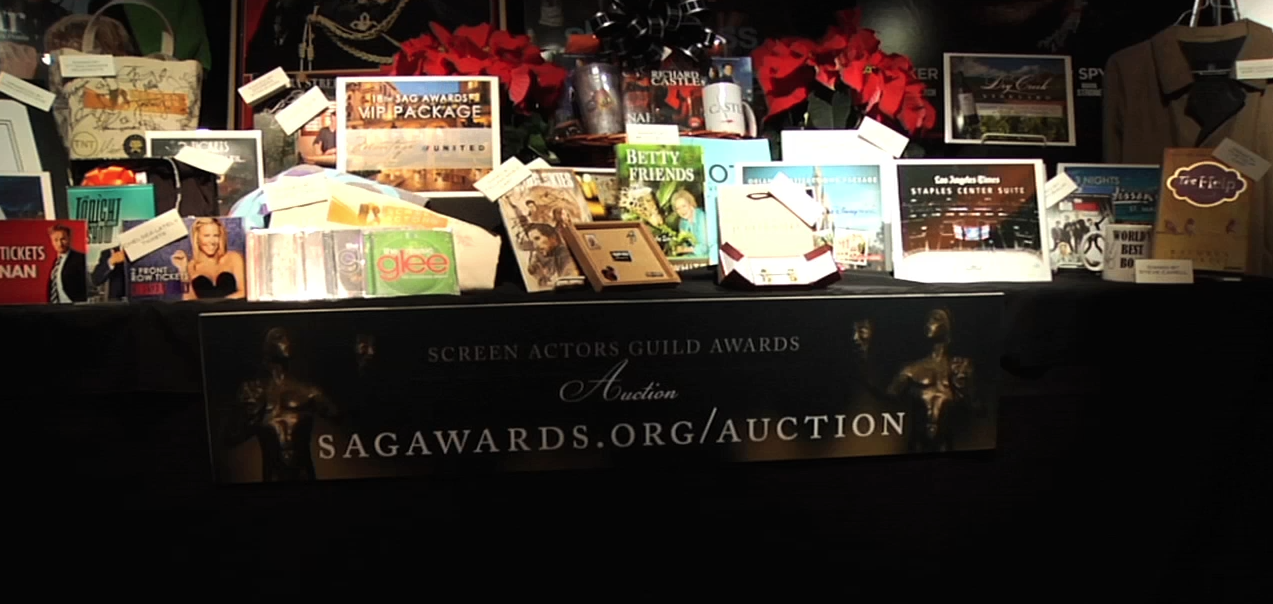 SAG Awards Holiday Auction Begins Today Benefiting the SAG Foundation's Children's Literacy and Emergency Assistance Programs